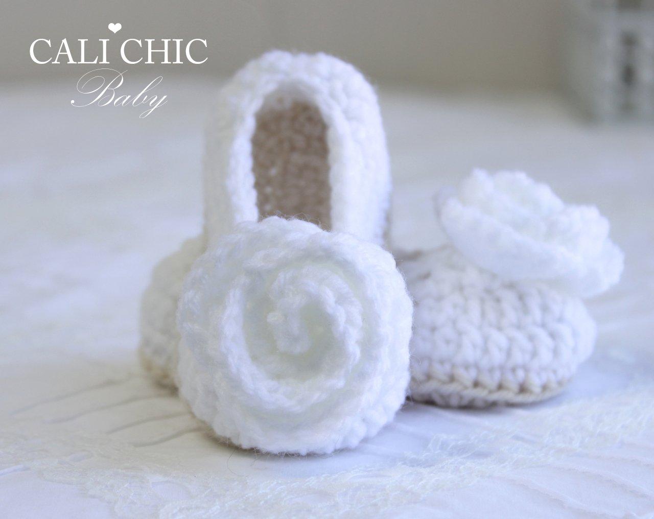 CharlotteCrochetBaby ShoesPattern 324 | Cali Chic Baby