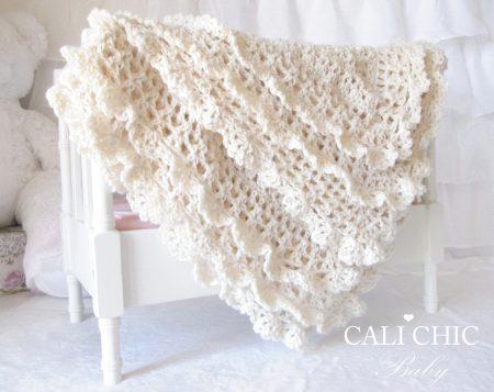 42e78916ffc81 Crochet & Knitting Baby Blanket Patterns | Cali Chic Baby