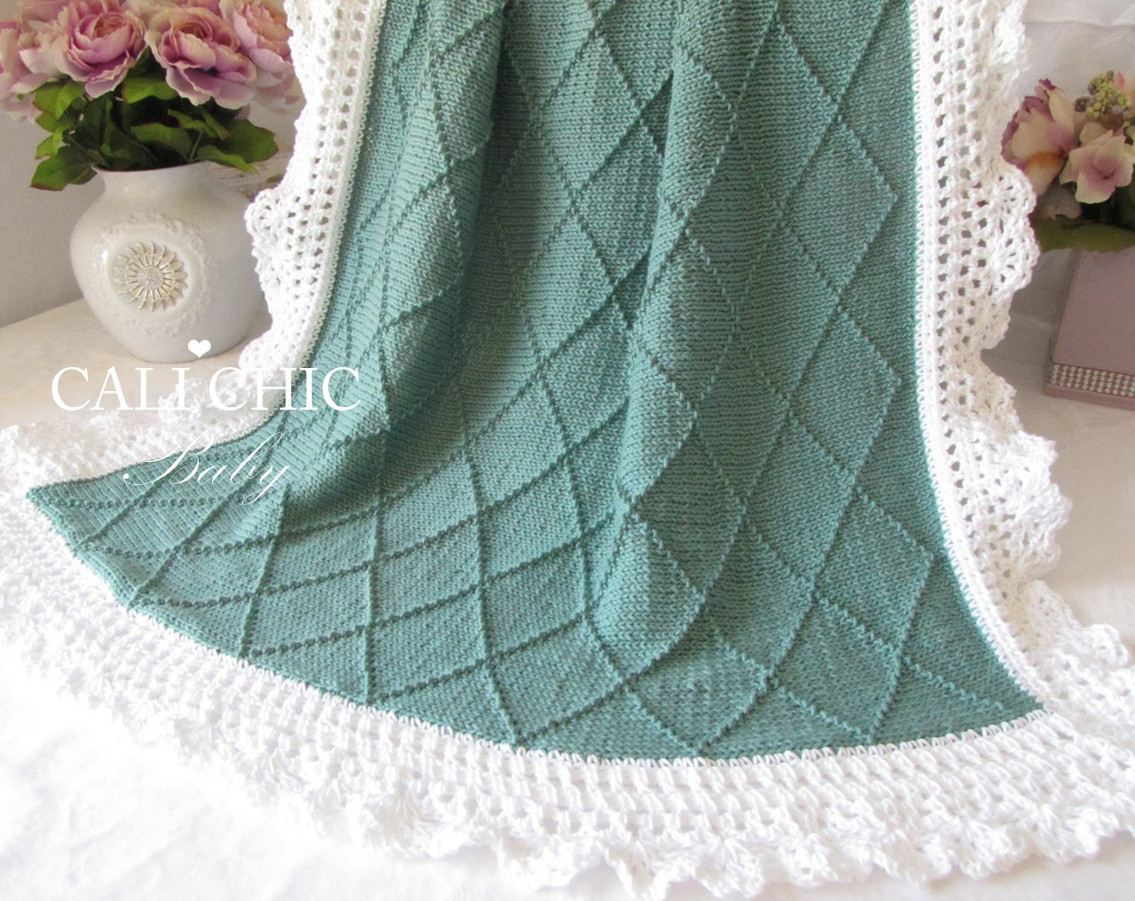 ParisKnitBaby BlanketPattern 63 | Cali Chic Baby