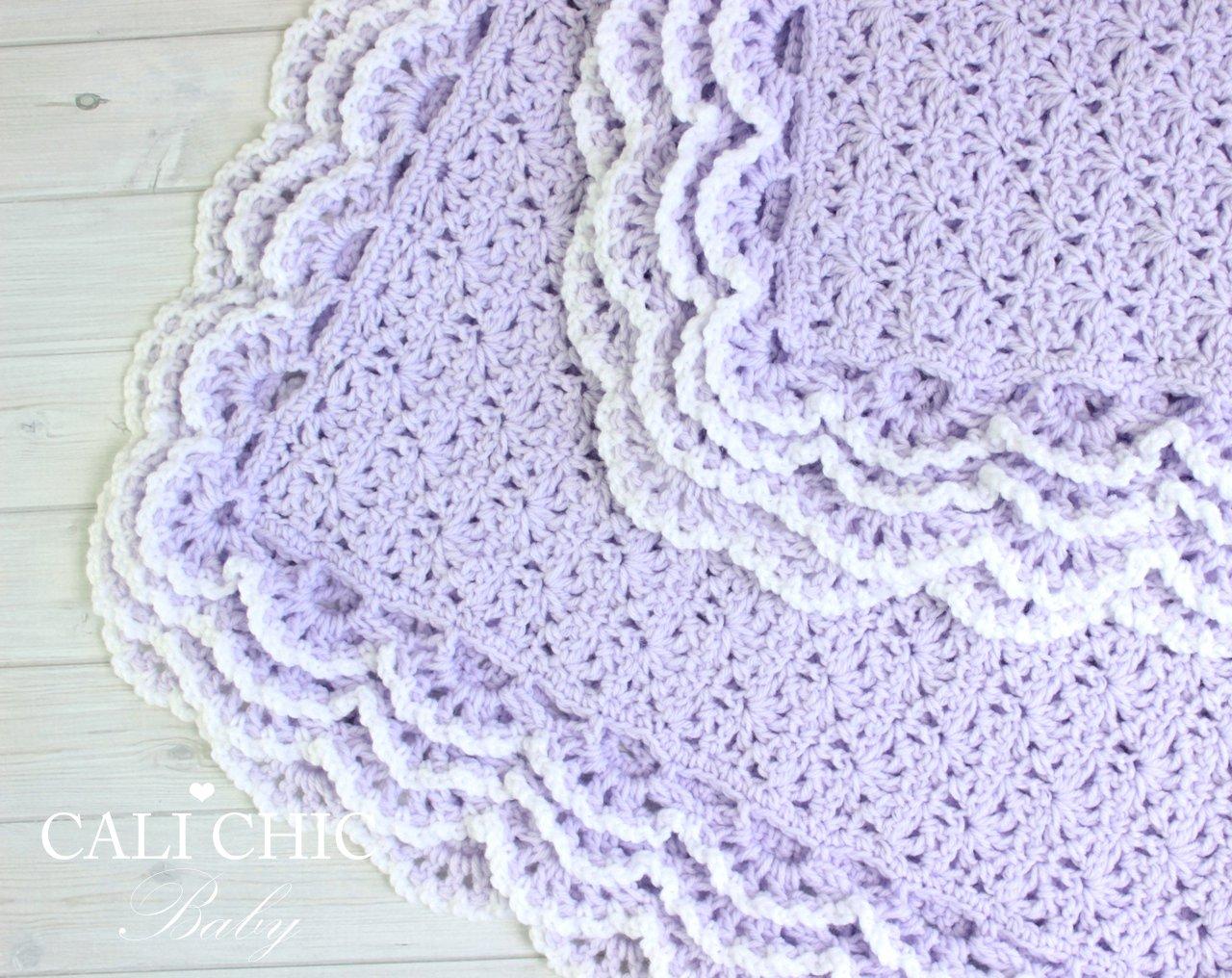 Iriscrochetbaby Blanketpattern 100 Cali Chic Baby