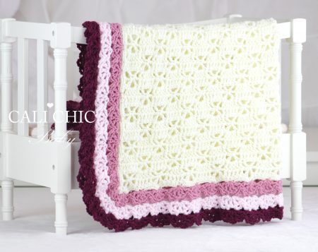 Ariel baby blanket pattern
